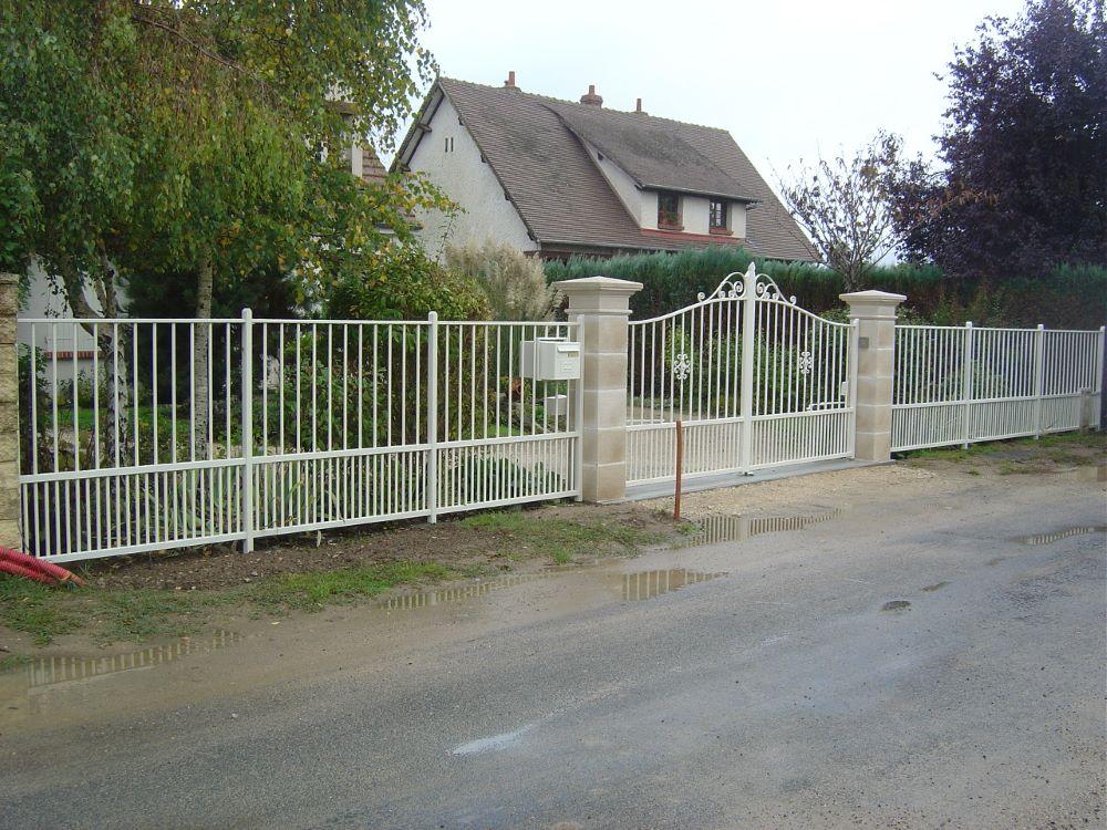 Le Brun portail et clôture Classic alu