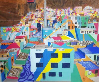 Patchwork en béton (La Paz)