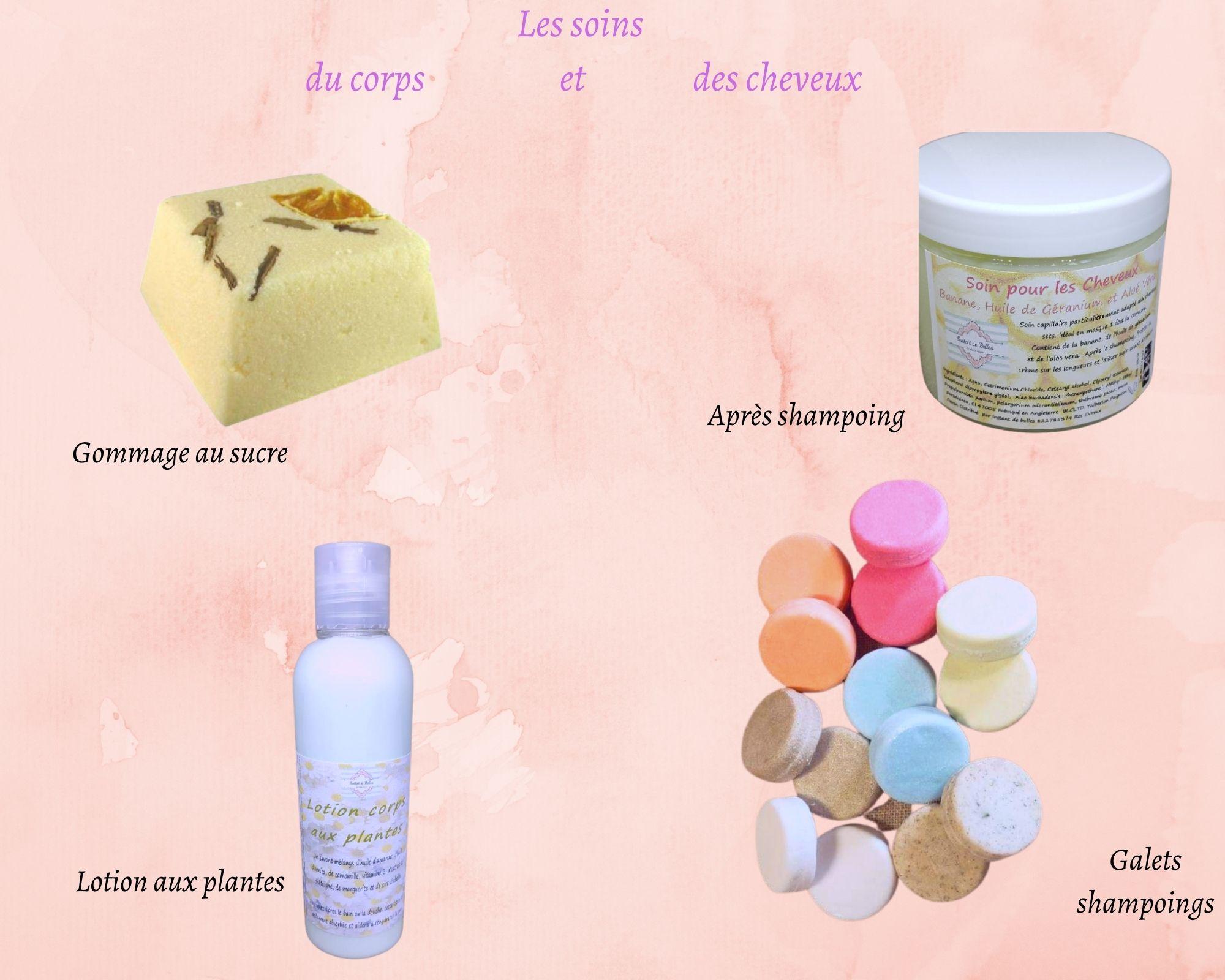 Les soins du corps et des cheveux (1)